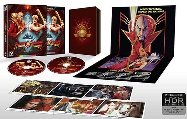 Flash Gordon arrive sur Blu-ray 4K à partir de la vidéo Arrow