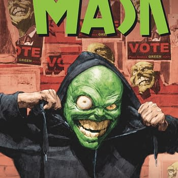 Dark Horses The Mask Returns From Halt And Catch Fire Creator Christopher Cantwell to Make America Green Again #MAGA