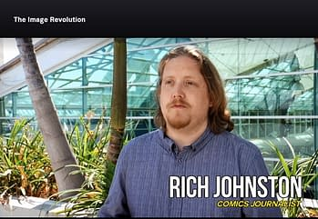 When Rich Johnston Spoke Out On