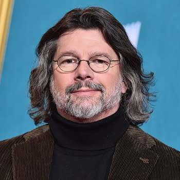 LOS ANGELES - FEB 13: Ronald D. Moore arrives for the 'Outlander' Season 5 Premiere on February 13, 2020, in Hollywood, CA (DFree/Shutterstock.com)