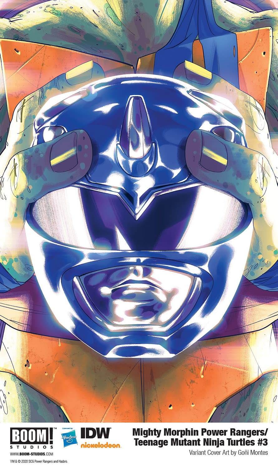 BOOM! Reveals Hot Speculator Tip About Power Rangers/TMNT #3