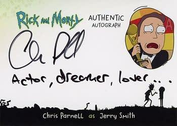 Rick and Morty Season 1 Trading Cards Auto 1
