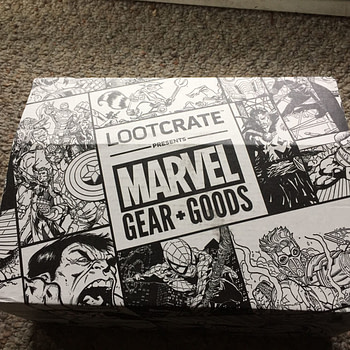 marvel loot crate