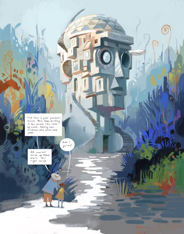 Fine Artist Dean Stuart's First Graphic Novel Is About Dementia.