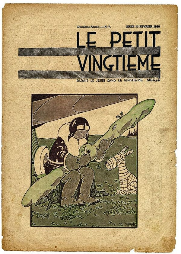 Hergé's Land Of The Soviets' Cover For Le Petit Sells For Over a Million Dollars