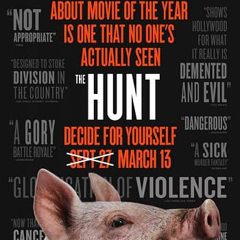 Universals Back into The Hunt New Trailer Poster