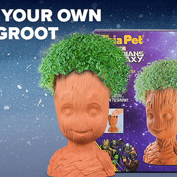 Loot Crate Ensures Plenty Of Baby Groot Chia Pets Will Be Given For Christmas