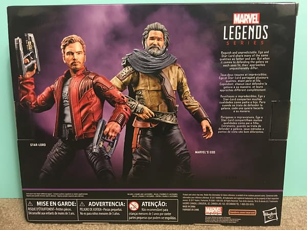 Marvel Legends Star Lord and Ego Two Pack 4