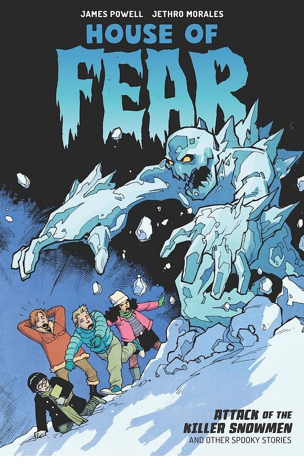 Dark Horse to Frighten Children with House of Fear: Attack of the Killer Snowmen in May