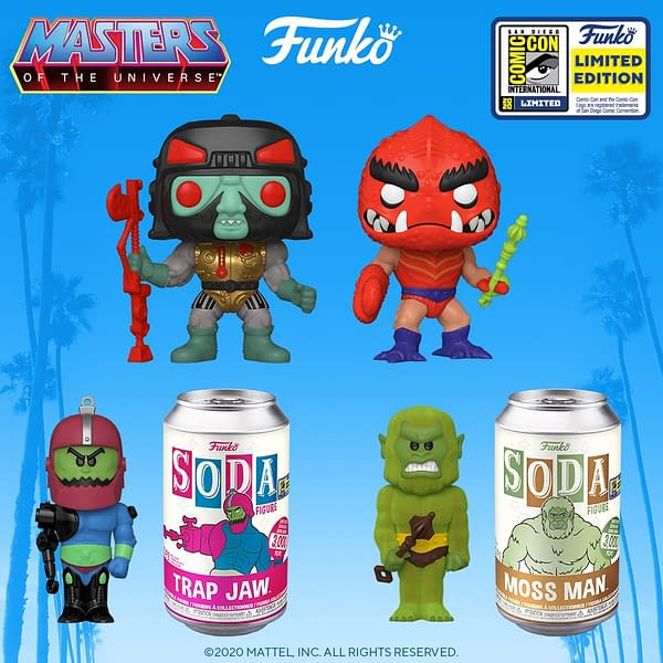 Funko SDCC 2020 Reveals - Masters of the Universe