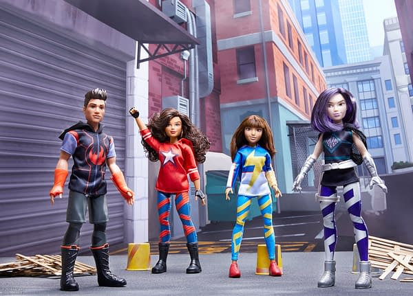 Marvel Rising Gets a Toy Line From Hasbro