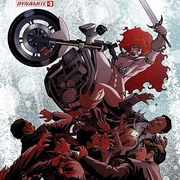 Writers Commentary &#8211 Amy Chu Talks Red Sonja #3