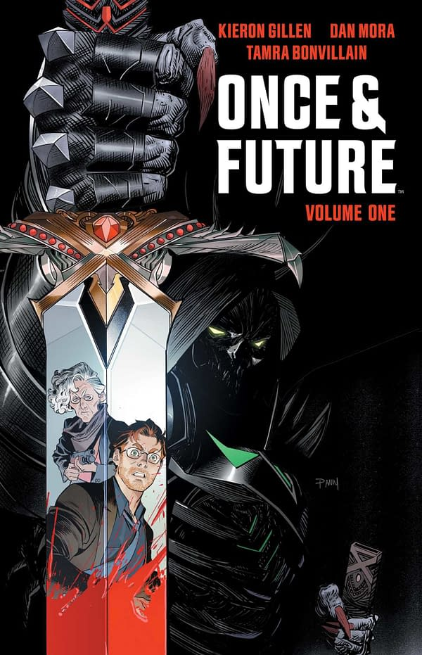 The cover of Once & Future by Boom Studios