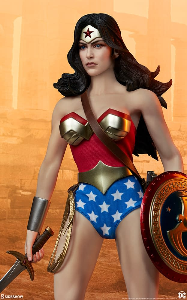Wonder Woman gets real with new figure from Sideshow Collectibles