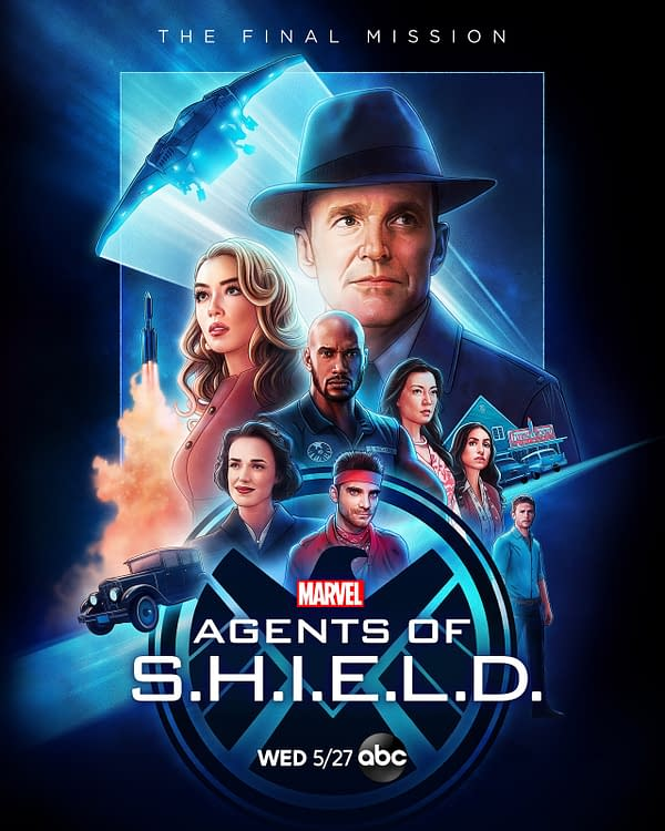 Marvel's Agents of S.H.I.E.L.D. released official key art for the final season, courtesy of ABC.