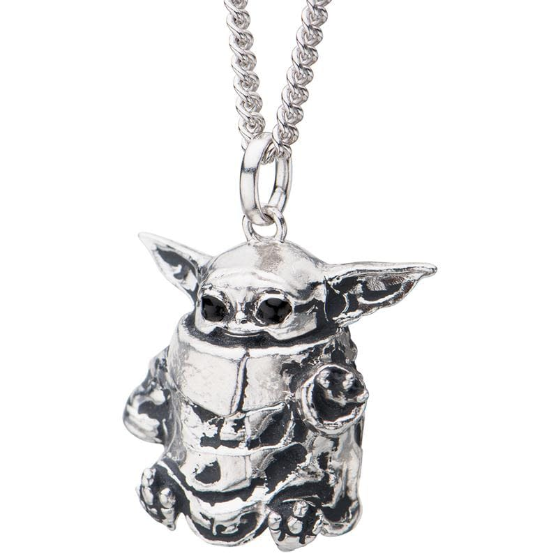 RockLove is now taking pre-orders for their Baby Yoda necklace!