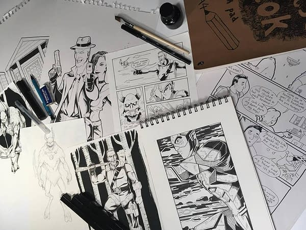Drawing Comics