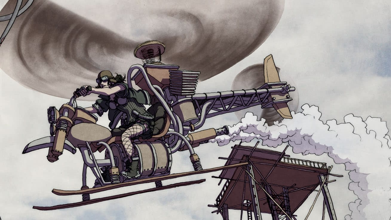 Warren Ellis and Paul Duffield's Flood Future Comic Freakangels, Now a Crunchyroll Anime – Speculator Corner?