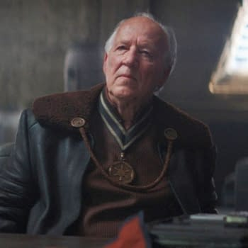A look at Werner Herzog from The Mandalorian (Image: Disney+)