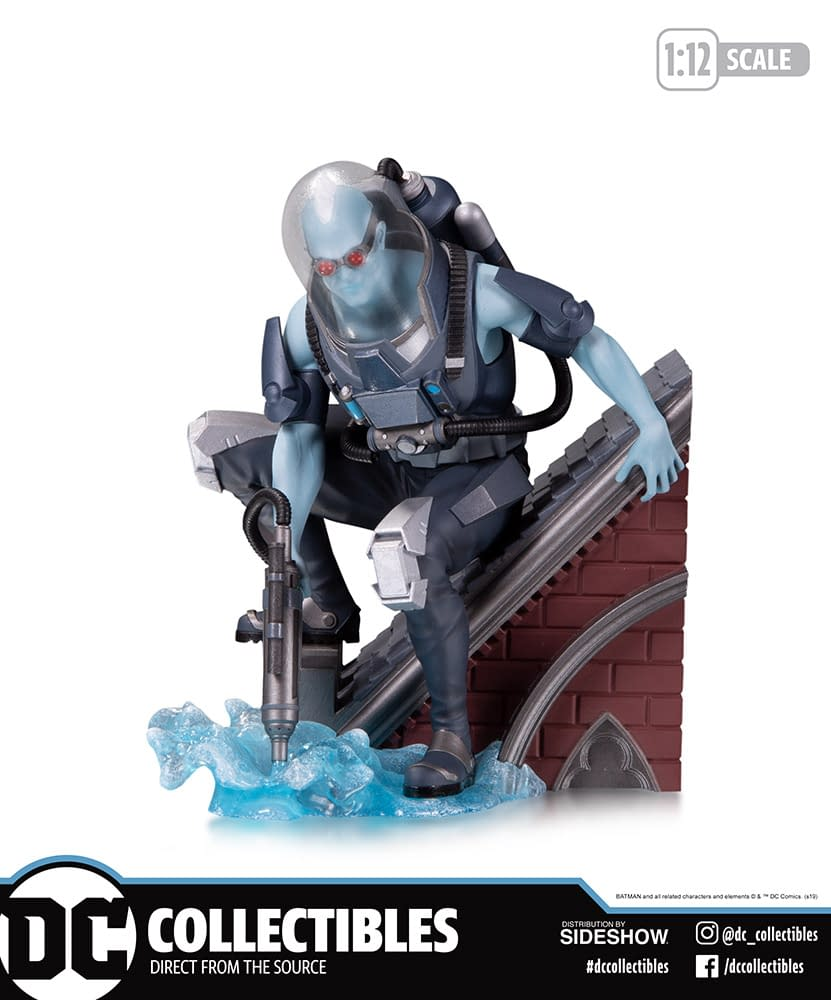 Mr. Freeze Starts Off the Batman Rogue Gallery with DC Collectibles
