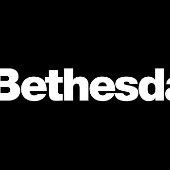 Bethesda Logo white on black