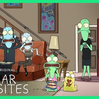 Justin Roiland and Mike McMahn's Solar Opposites starts next month, courtesy of Hulu.