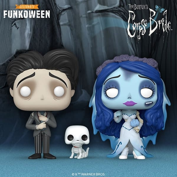 Corpse Bride Gets Reanimated Once Again with Funko Pop