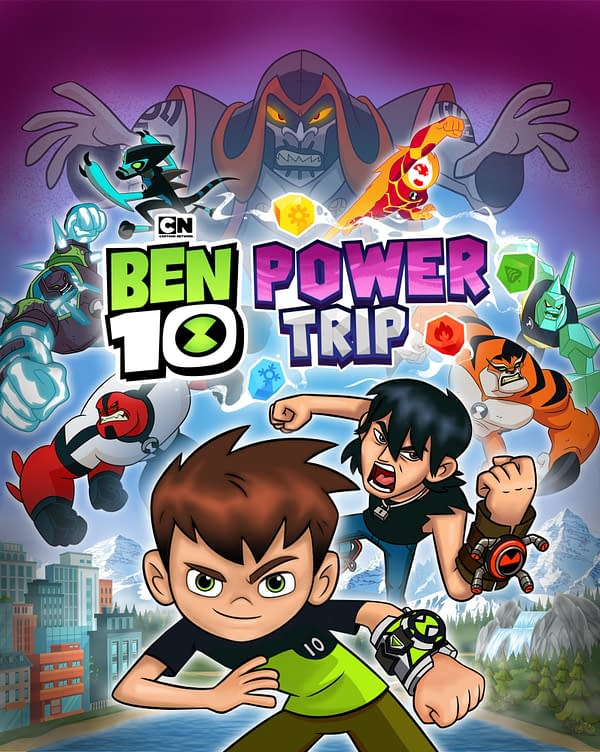 Ben 10 is getting into action on October 9th, 2020. Courtesy of Outright Games.