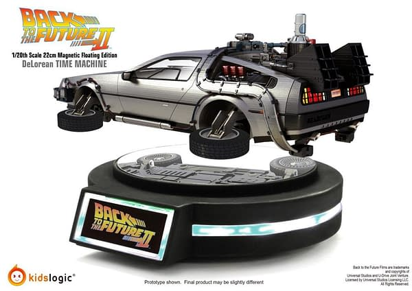 Back to the Future II Levitating Statue from Kids Logic