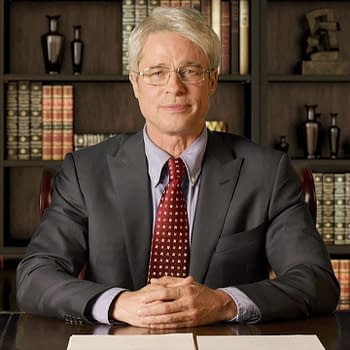 Brad Pitt plays Dr. Anthony Fauci during the SNL at Home cold open, courtesy of NBC.