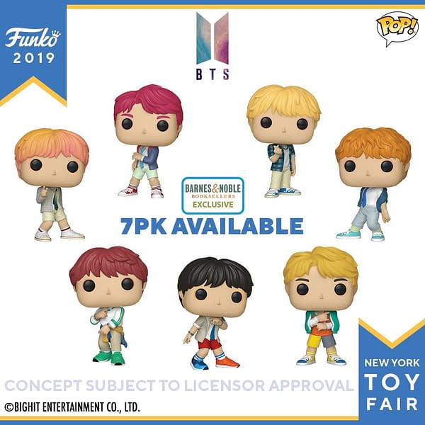 Funko New York Toy Fair BTS