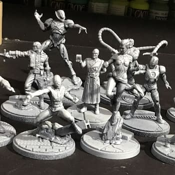 Marvel Crisis Protocol: Tackling the Miniatures