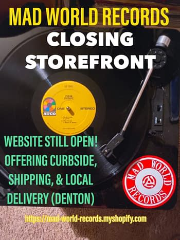 The Comic Store Taking Over a Closing-Down Record Store in Denton, Texas