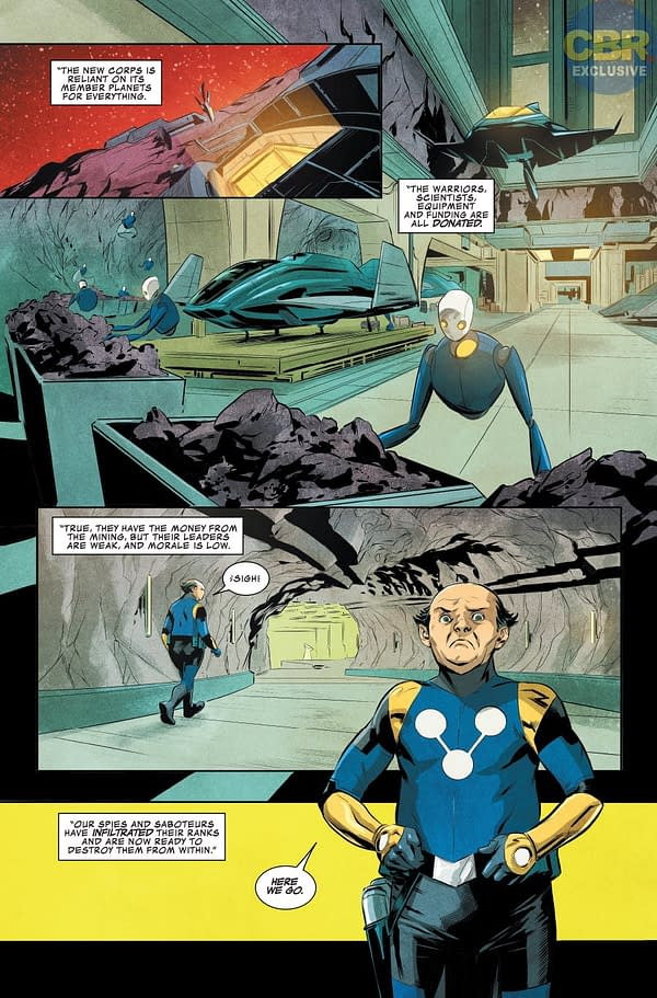 Guardians of the Galaxy #146 art by Marcus To and Ian Herring