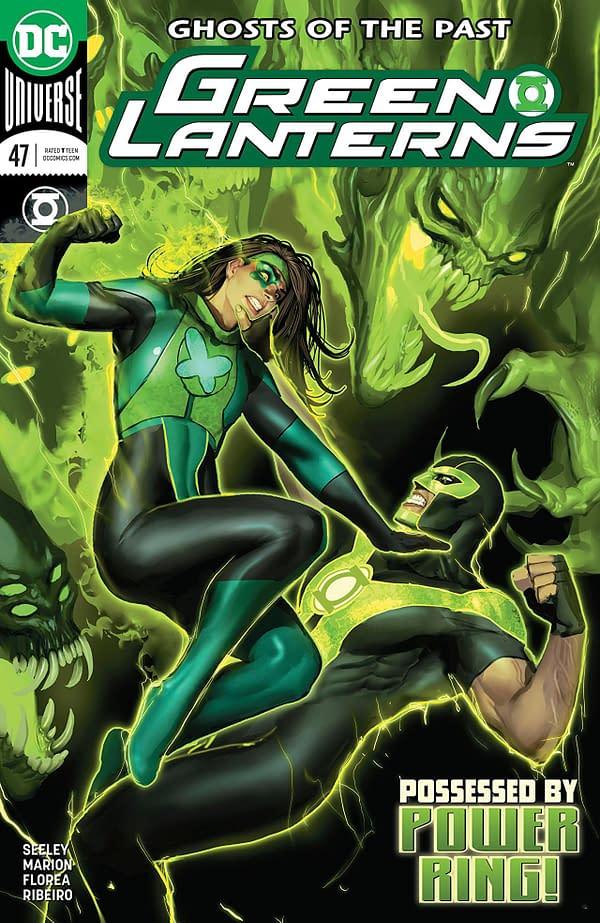 Green Lanterns #47 cover by Stjepan Sejic