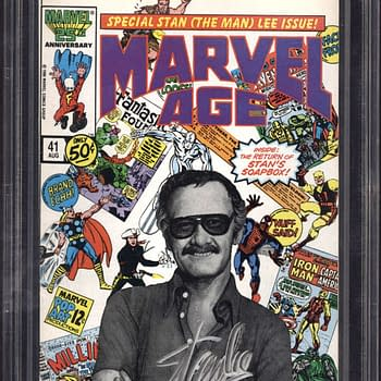 Stan Lee Autographed Copy Of Marvel Age #41 Ending On ComicConnect