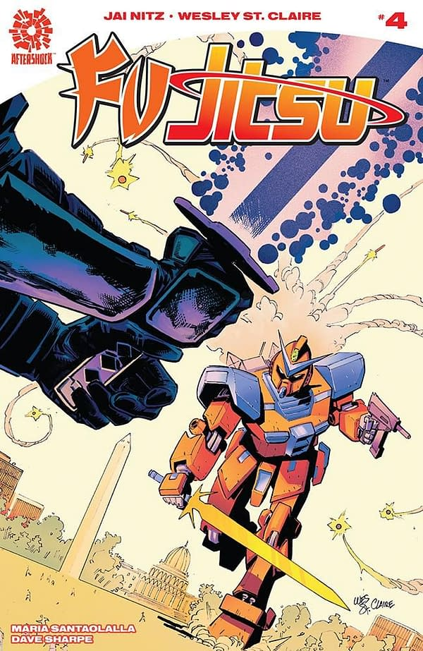 Fu Jitsu #4 cover by Wesley St. Claire