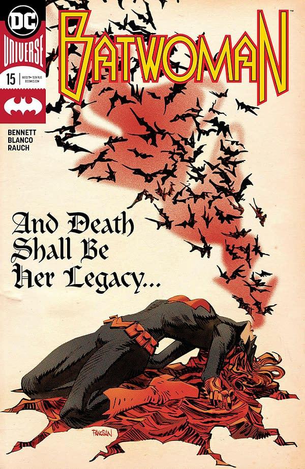 Batwoman #15 cover by Dan Panosian