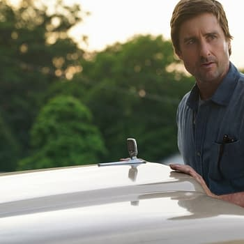 "Stargirl -- ""Wildcat"" -- Image Number: STG104b_0048b.jpg -- Pictured: Luke Wilson as Pat Dugan -- Photo: Jace Downs/The CW -- © 2020 The CW Network, LLC. All Rights Reserved."