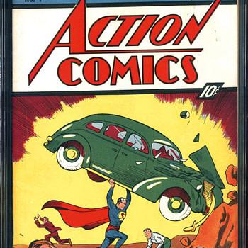 Action Comics #1 CGC 8.5 $2,007.500 Comic Connect Sales 6/11/2018
