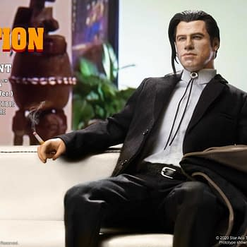 """Pulp Fiction"" Come to Life with Vincent Vega Figure from Star Ace"