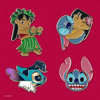 Mondo Disney Pins Release A Set Of Adorable Lilo & Stitch Pins