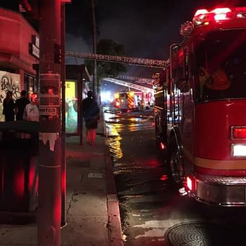 Meltdown Comics Building Burns Down in Los Angeles