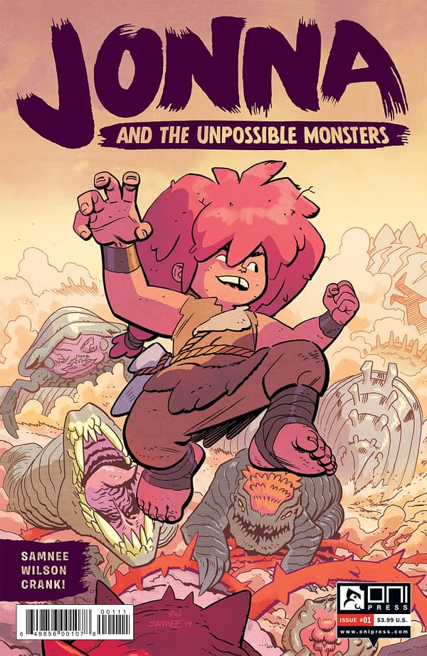 Chris and Laura Samnee Launch Jonna and the Unpossible Monsters from Oni Press in June