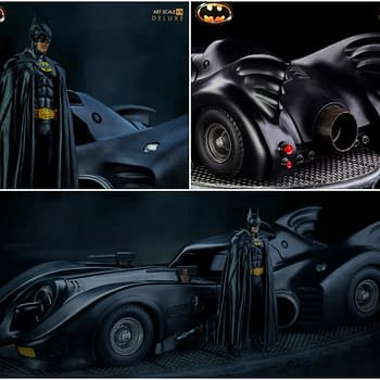 Batmobile 89 Hits the Streets Again With New Iron Studios Art Scale