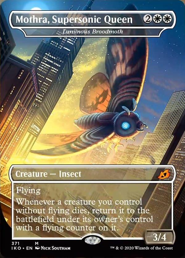 Luminous Broodmoth mtg card
