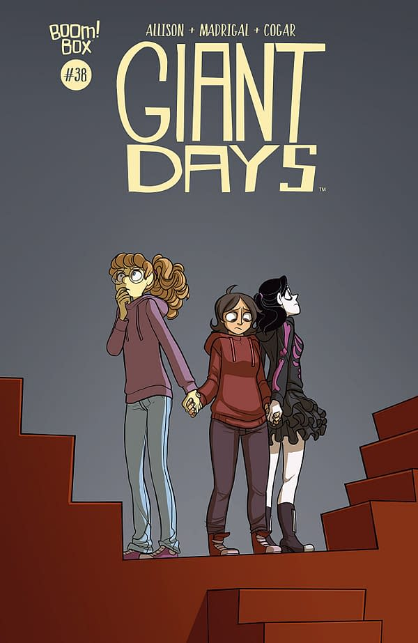 Giant Days #38 cover by Max Sarin
