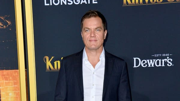 """Michael Shannon at the premiere of """"Knives Out"""" at the Regency Village Theatre. Editorial credit: Featureflash Photo Agency / Shutterstock.com"""