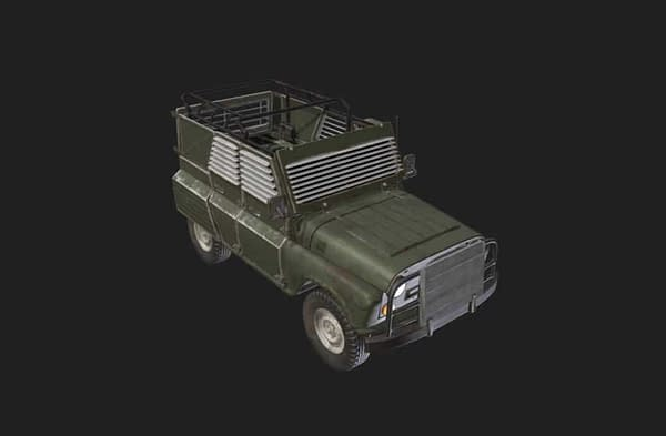 PlayerUnknown's Battlegrounds Adding a New Armored Vehicle for Event