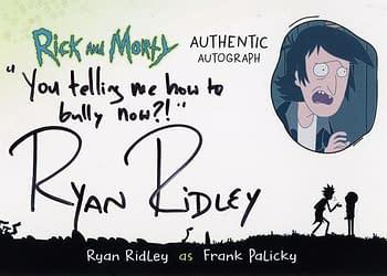 Rick and Morty Season 1 Trading Cards Auto 3
